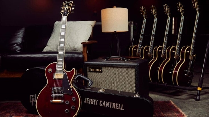 The Jerry Cantrell Wino Les Paul Custom guitar